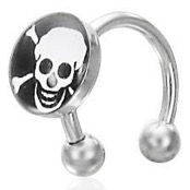 Scull piercing.