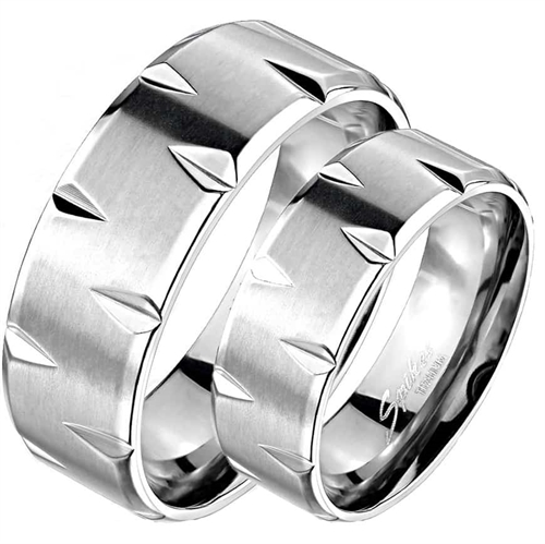 """Titanium"" Design ring."