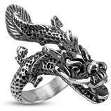 "Fingerring ""China Dragon"" Stål"
