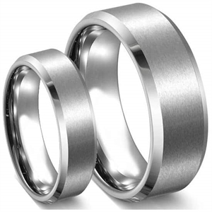 """Steel"" Rustfrit stål316L ring"
