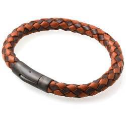 Skinn armbånd Dark Brown