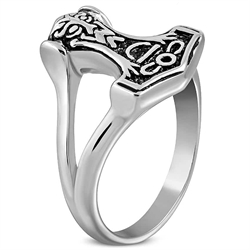 Thors Hammer menns ring