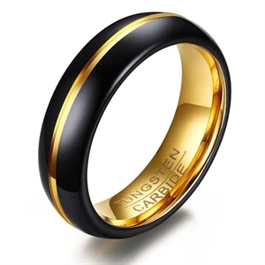 HQ4 Mens ring i tungsten